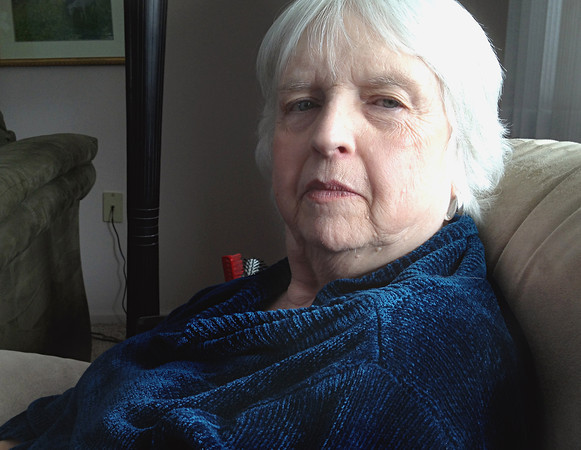 Record-Eagle/Nathan Payne<br /> Judy Hartley, a life-long poet, recently wrote a serendipituous piece about the oldest Holocaust survivor's death, only Hartley says she penned the piece a day before the woman died.