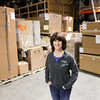 Record-Eagle/Keith King<br /> Debi Piette, president and owner, at Star Delivery Solutions in Traverse City.
