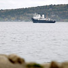 Record-Eagle/Keith King<br /> The State of Michigan departs and will anchor in Detroit. In approximately three weeks the boat will return for an overnight stay. It is scheduled to return to Traverse City at the end of June. A blog written by G.L.M.A. cadets regarding the sea project can be found on the Great Lakes Maritime Academy's website.