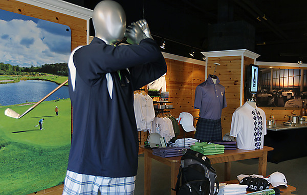 Record-Eagle/Keith King<br /> Grand Traverse Resort & Casinos - The Store opens today at 300 E. Front St. in downtown Traverse City. The shop offers various resort products and services, Pure Michigan merchandise, cooking demonstrations and four times a day shuttle service to the Acme-based resort. The store will be open daily from 10 am. - 6 p.m., until 8 p.m. Fridays and Saturdays and Sundays from 11 a.m. - 6 p.m. Gay Lynn Hedges is the store manager.