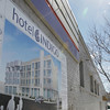 """Record-Eagle/Keith King<br /> """"It all hinges on financing,"""" said Rochester Hills developer Jeff Schmitz, of Grand Traverse Hotel Propoerties LLC, of the proposed development plans at Grandview Parkway and Hall Street."""