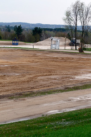 Record-Eagle/Jan-Michael Stump<br /> Flintfields Horse Park, home to Horse Shows by the Bay, is installing new footing around the show rings that uses a high-tech sand and synthetic fiber system and a water recycling  and irrigation system that should reduce water use by nearly 90 percent.
