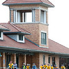 Record-Eagle/Jan-Michael Stump<br /> Riders begin the 2011 Ride of Silence at the train depot off Eighth Street.