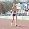 Record-Eagle/Keith King<br /> Jennifer Wiest nears the finish line to finish first in the 32nd annual Bayshore women's 10K.