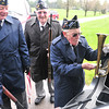 Record-Eagle/Nathan Payne<br /> Al Ockert places his bugle in its case while preparing to leave a grave-side service. Ockert and other members of the VFW Post 2780 honor guard perform hundreds of services each year with help from members of American Legion Post 35.