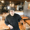 Record-Eagle/Keith King<br /> Anthony Craig, owner and chef, at Georgina's in Traverse City.