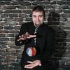 Record-Eagle/Keith King<br /> <br /> Josh Beechraft, magician, in Solon Township.