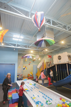 Record-Eagle/Keith King<br /> A variety of activities take place at the Great Lakes Children's Museum.