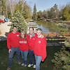Record-Eagle/Keith King<br /> Kyle and Kelly Orr, left, are buying Riverside Canoe Trips from previous owners Tom and Kathy Stocklen.