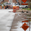 Record-Eagle/Jan-Michael Stump<br /> Utility work on Bay Street has been suspended until after Labor Day because of a high water table.