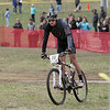 Record-Eagle/Keith King<br /> Mike Anderson rides across the finish line in the men's Stout class.