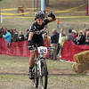 Record-Eagle/Keith King<br /> Johanna Schmidt clebrates after winning the women's Stout class.