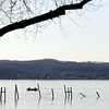 Record-Eagle/Jan-Michael Stump<br /> Fishermen work West Grand Traverse Bay between the mouth of the Boardman River and the Holiday Inn dock.