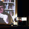 "Record-Eagle/Jan-Michael Stump<br /> Traverse City Film Festival co-founder Michael Moore , who joined the conference via Skype, announces his own donation of $10,000, as well as other donors contributions of 20 percent of the project's goal. Cousins sponsored two seats in the theater. The ""New Seats for Lars!"" Community Fundraising Campaign is looking to raise the funds through mail, in person, online or via text. The fund drive will last 30 days, during which organizers hope to raise more than $100,000; about $30,000 already has been donated. Seat sponsorships are $200; names will be affixed to the back of each seat. Donors of $50 or more will get their names on a plaque in the lobby. Donate $10 by texting LARS to 52000. Online donations can be made at <a href=""http://www.traversecityfilmfest.org/"">http://www.traversecityfilmfest.org/</a>. Call 392-1134 or email info@traversecityfilmfest.org."