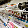 Record-Eagle/Keith King<br /> A variety of caulk is displayed at the Ace Hardware on West Front Street.