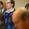 "Record-Eagle/Jan-Michael Stump<br /> ""I just want my mom back,"" William Webb, Shari Marvin's son, tells the 13th Circuit Court on Tuesday. Judge Thomas Power sentenced Michael Marvin to at least 15 years in prison after a jury convicted him of second-degree murder in the stabbing death of his wife."