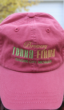 Record-Eagle/Keith King<br /> <br /> A Brewery Terra Firma hat Wednesday, October 24, 2012 worn by John Niedermaier.