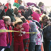 Record-Eagle/Jan-Michael Stump<br /> The prop wash of an MH-66C Dolphin helicopter from U.S. Coast Guard Air Station Traverse City blasts a crowd waiting in the parking lot at the Great Wolf Lodge for Santa Claus' arrival to kick off Saturday's Toys for Tots campaign at Great Wolf Lodge. Last year's campaign collected apporximately 25,000 toys that were distributed to an estimated 8,000 children in the region.