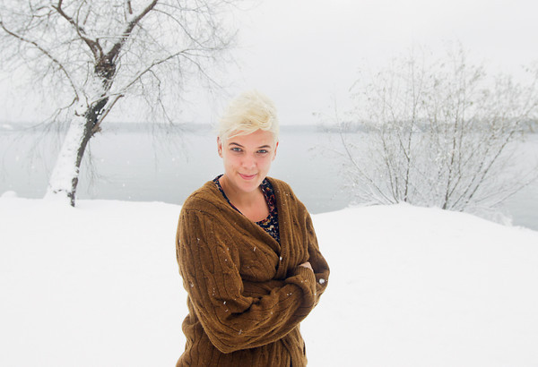 Record-Eagle/Keith King<br /> Jessica Newham, who performs as Betty Who, poses for a photo Tuesday, November 26, 2013 in Interlochen.