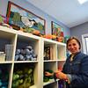 Record-Eagle/Dan Nielsen<br /> Michele Mueller operates the Wild Hare Rug Studio in Elk Rapids.