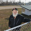 Record-Eagle/Keith King<br /> Jack Rineer, of Beulah, stands at Academy Park in Benzonia Thursday, November 15, 2012 where he has been responsible for the building of an ice rink there for 40 years.