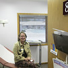 Record-Eagle/Jan-Michael Stump<br /> Nurse Practitioner Linda Rasmussen (cq) sits in a room at the Traverse Health Clinic, which received a $100,000 grant from Blue Cross Blue Shield to prepare for The Patient Protection and Affordable Care Act, or Obamacare.