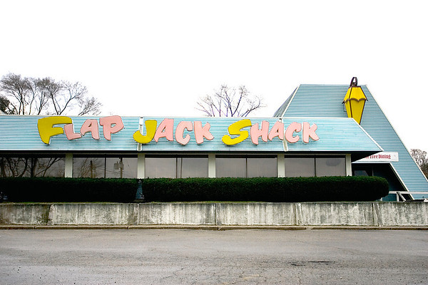 Record-Eagle/Keith King<br /> The Flap Jack Shack along U.S. 31 is closed.