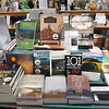 """Record-Eagle/Vanessa McCray<br /> A customer reads """"Northern Michigan Asylum: A History of the Traverse City State Hospital,"""" one of the local books featured at Horizon Books."""