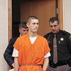 Record-Eagle/Keith King<br /> Jonathan David Cook, 18, of Grawn, waived his preliminary examination Thursday in 86th District Court. He faces a felony count of killing or torturing animals.