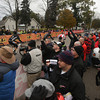 Record-Eagle/Keith King<br /> Spectators look on at the starting line Saturday, November 2, 2013 in Kalkaska during the 24th annual Iceman Cometh Challenge bicycle race.