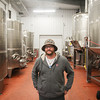 Record-Eagle/Keith King<br /> Jay Briggs, winemaker, stands Wednesday, November 6, 2013 in the production facility at Forty-Five North Vineyard and Winery in Suttons Bay Township.