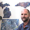 Record-Eagle/Nathan Payne<br /> Ryan Greiner made a leap of faith last winter when he quit his career as a personal banker to begin his own art studio. The 33-year-old father and husband took what used to be a hobby to a statewide business in just six months and he's not stopping there.