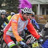 Record-Eagle/Keith King<br /> Scott Vanderstelt takes off from the starting line Saturday, November 2, 2013 in Kalkaska during the 24th annual Iceman Cometh Challenge bicycle race.