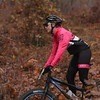 Record-Eagle/Keith King<br /> Chelsea Strate travels Saturday, November 2, 2013 near Williamsburg Road during the 24th annual Iceman Cometh Challenge bicycle race.