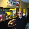 Record-Eagle/Keith King<br /> John Vinkemulder, of Frankfort, stands Wednesday, October 10, 2012 inside the Garden Theater in Frankfort.