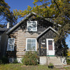 Record-Eagle/Keith King<br /> A house stands Monday, October 28, 2013 at the corner of E. Eighth Street and Railroad Avenue in Traverse City.
