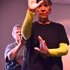 Record-Eagle/Allison Batdorff<br /> Adelfa DaFoe, front, and Charlotte Owen practice tai chi.