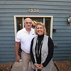Record-Eagle/Keith King<br /> Larry Stalsonburg and his wife Christine stand Tuesday, October 2, 2012 at their new business, Cherry Wings Realty, in Traverse City.