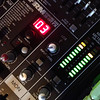 Record-Eagle/Nathan Payne<br /> One of Mike Moran's mixing boards blinks along while Moran's three friends talk their way through two hours of recording their weekly podcast about beer.