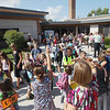 Record-Eagle/Keith King<br /> Students are dismissed Tuesday, September 4, 2012 after the first day of school at Willow Hill Elementary School.