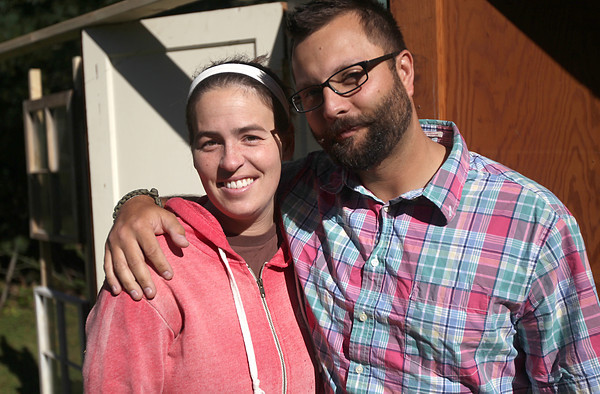 Record-Eagle/Nathan Payne <br /> Kendra Gilbert and John Nuske will be married Saturday morning, seven years to the day after Gilbert was diagnosed with an inoperable brain tumor.