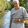 Record-Eagle/Loraine Anderson<br /> Charles Frye has seen many changes along the Boardman River over his seven decades of living next to it.