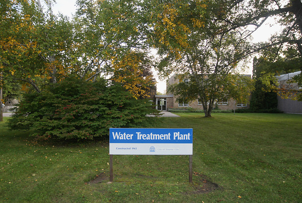 Record-Eagle/Keith King<br /> The Traverse City Water Treatment Plant Monday, September 30, 2013 on Eastern Avenue in Traverse City.