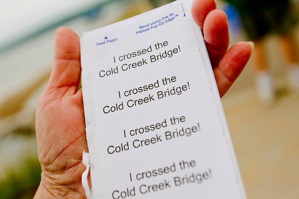 COLD CREEK BRIDGE WALK