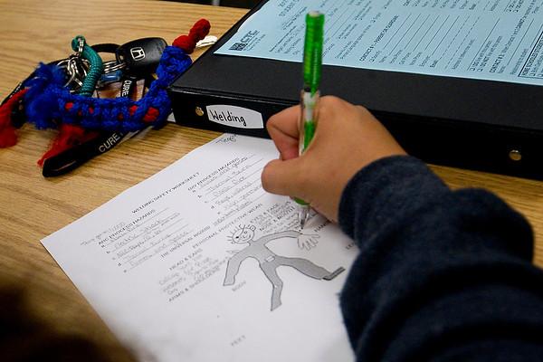 CAREER TECH WELDING CLASS