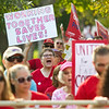 MUNSON NURSES RALLY