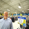 Record-Eagle/Dan Nielsen<br /> Dan Buron, CEO of Goodwill Northern Michigan, in the Traverse City Goodwill on South Airport Road, one of nine stores the organization operates.