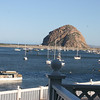 A look toward Morro Rock from our hotel room.