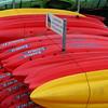 You can rent kayaks at the boat harbor in Santa Barbara.