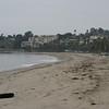 A look at the beach near the boat harbor in Santa Barbara.